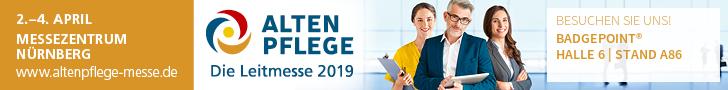 Altenpflegemesse 2019 - badgepoint®
