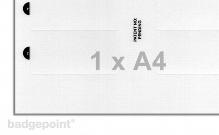 Druckbogen blanko Folie 38