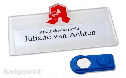 skyline Apotheken Namensschild