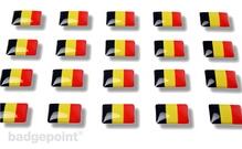"""Flaggensticker """"Belgien"""""""