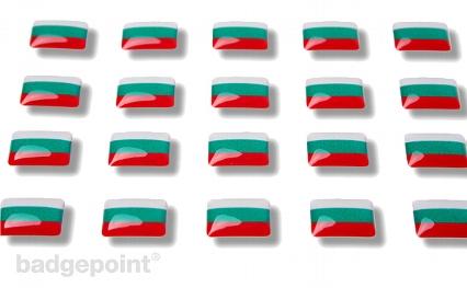 """Flaggensticker """"Bulgarien"""""""