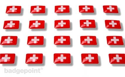 """Flaggensticker """"Schweiz"""""""