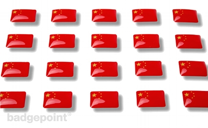 "Flaggensticker ""China"""