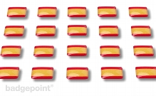 """Flaggensticker """"Spanien"""""""