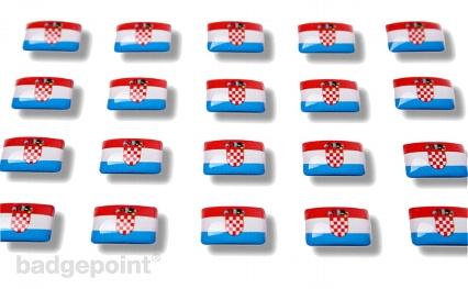 """Flaggensticker """"Kroatien"""""""