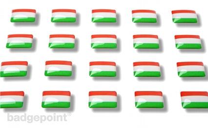 """Flaggensticker """"Ungarn"""""""