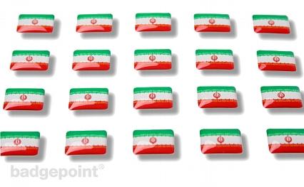 "Flaggensticker ""Iran"""