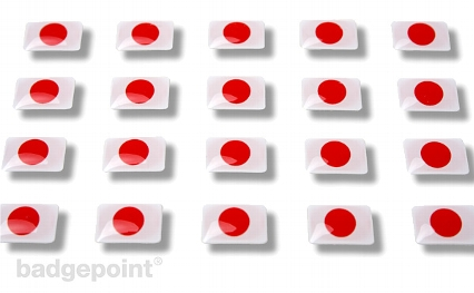 "Flaggensticker ""Japan"""