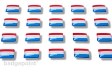 """Flaggensticker """"Niederlande"""""""