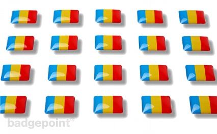 """Flaggensticker """"Rumänien"""""""