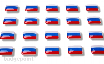 "Flaggensticker ""Russland"""