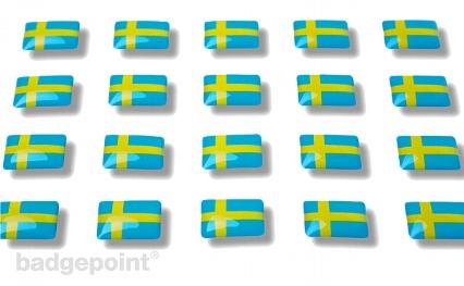 """Flaggensticker """"Schweden"""""""