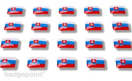 "Flaggensticker ""Slowakei"""