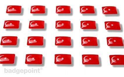 """Flaggensticker """"Türkei"""""""