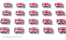 """Flaggensticker """"Großbritannien"""""""